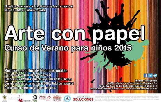 Curso de Verano 2015 Arte con papel2
